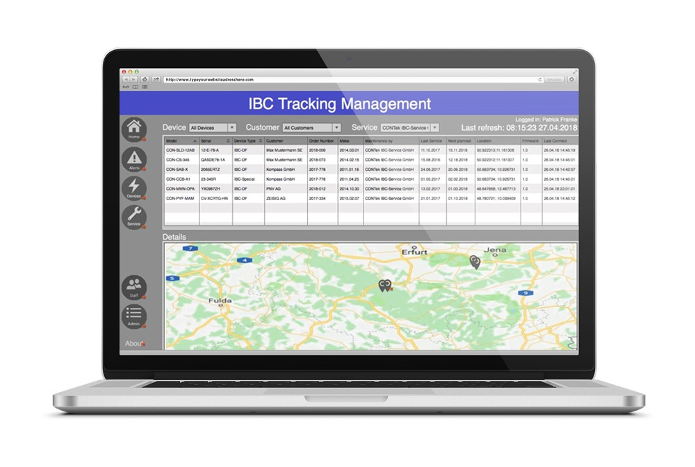 IBC Tracking Dashboard